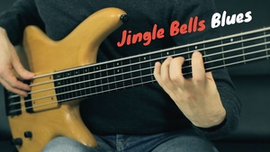 Jingle Bells Blues - Tab + Playbacks