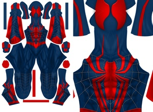 ALTERNATE DESIGN SPIDER-MAN EDIT 1 pattern