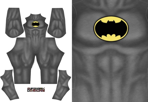 BATMAN DARK KNIGHT RETURNS (V2 yellow emblem) pattern file