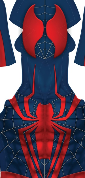 ALTERNATE DESIGN SPIDER-MAN EDIT 1 pattern (webbing on face)