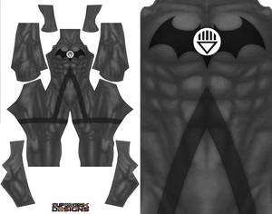 BLACKEST KNIGHT BATMAN pattern file