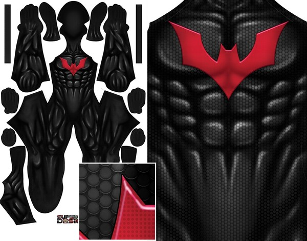 BATMAN BEYOND (no belt) pattern file