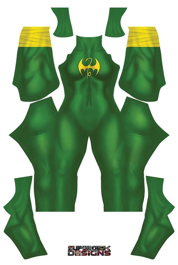 FEMALE IRON FIST pattern file