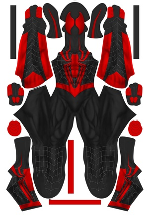 ALTERNATE DESIGN SPIDER-MAN EDIT 2 pattern