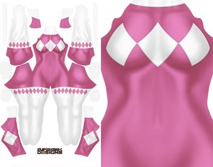 PINK RANGER (full sleeve) pattern file