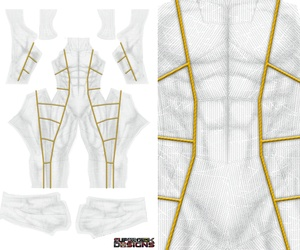 NEW  WHITE RANGER v2 pattern file