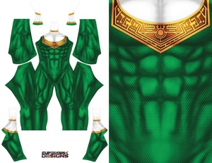 GREEN ZEO RANGER pattern file
