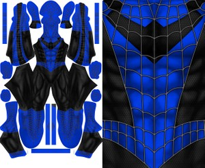 SPIDER-MAN NIGHTWING mashup pattern file