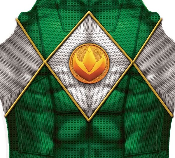 GREEN POWER RANGER (with emblem) pattern file