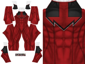RED QUANTUM RANGER pattern file