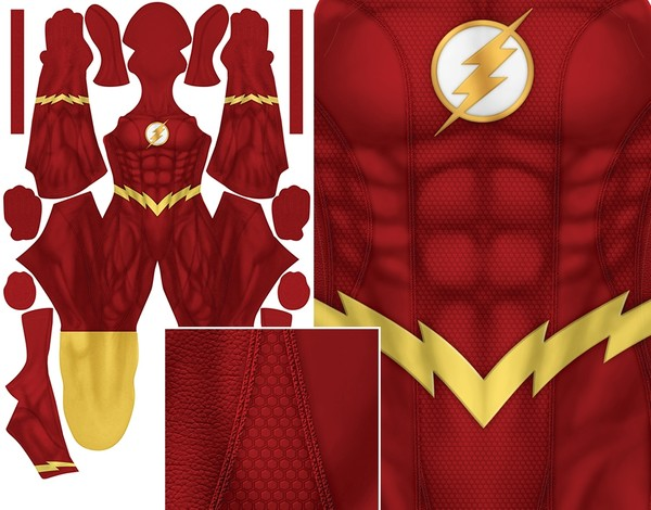 THE FLASH (no ear bolts) pattern file
