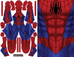 SPIDER-MAN pattern file