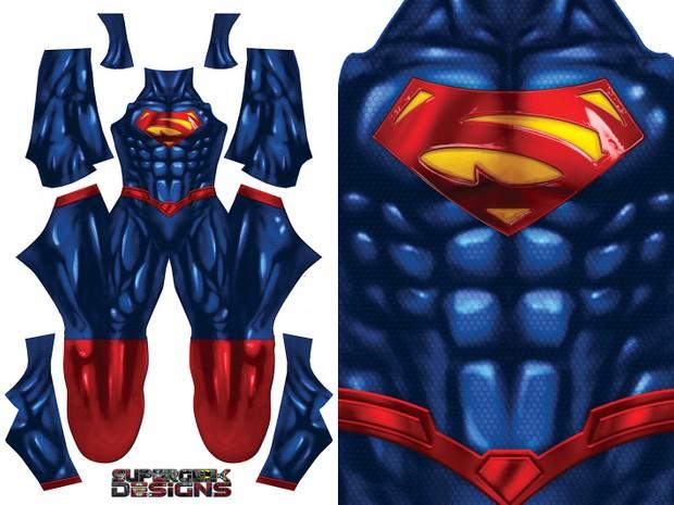 SUPERMAN (shiny) pattern file