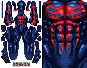SPIDER-MAN 2099 (NEW VERSION) pattern file