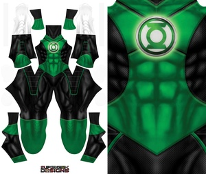 GREEN LANTERN (NEW) pattern file