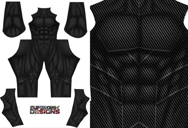 GENERIC CARBON FIBRE bodysuit pattern file