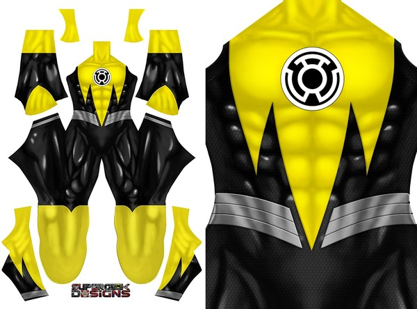 YELLOW LANTERN SINESTRO CORPS - pattern file
