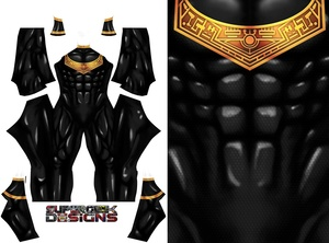 GOLD ZEO RANGER V1 pattern file