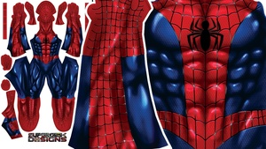 COMIC SPIDERMAN pattern file