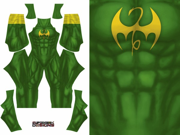 IRON FIST V1 pattern file