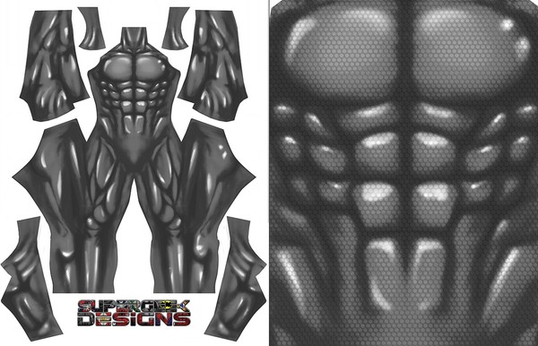 GREY BODYSUIT pattern file
