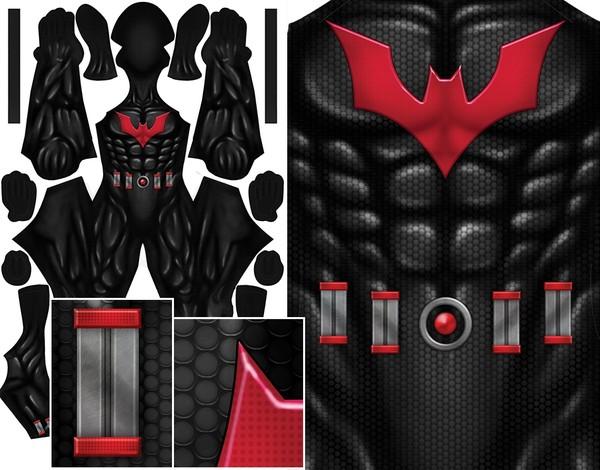 BATMAN BEYOND (with belt) pattern file