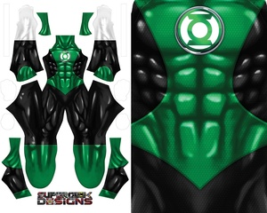 GREEN LANTERN (new design) pattern file