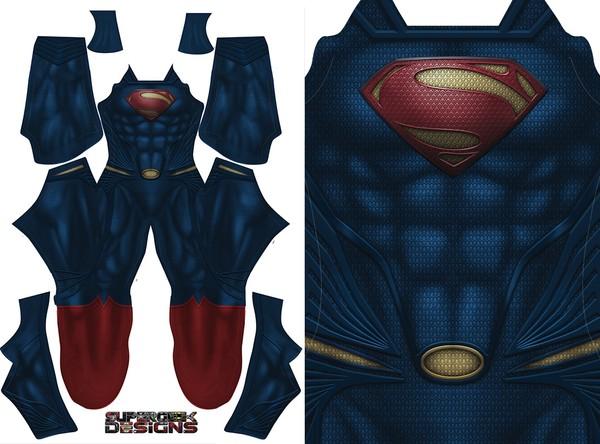 SUPERMAN Man of Steel - (updated) - pattern file