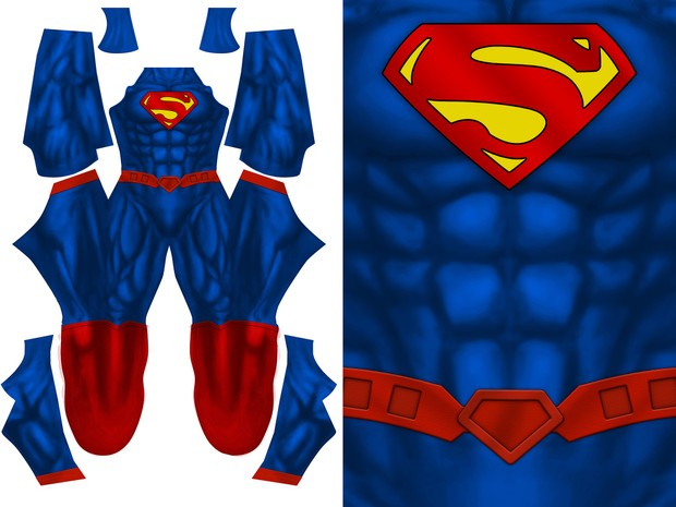 BASIC SUPERMAN pattern file