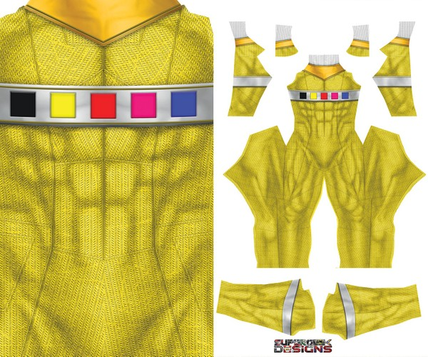 YELLOW RANGER SPACE pattern file