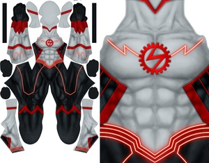 NEW 52 WALLY WEST pattern file