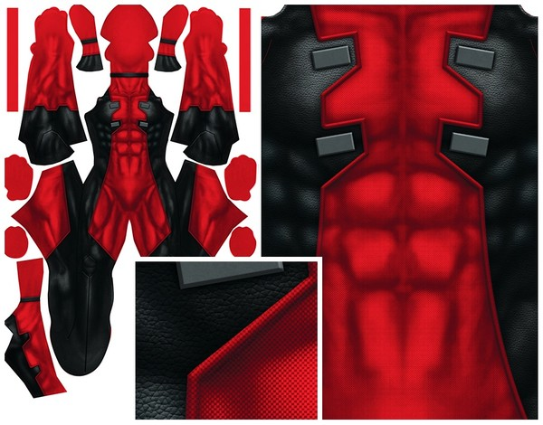 COMIC DEADPOOL PATTERN (updated)