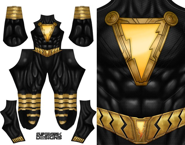 BLACK ADAM (high neckline) pattern file