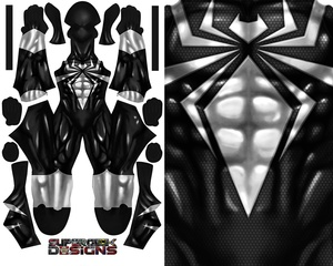 SYMBIOTE IRON SPIDER (v2) pattern file