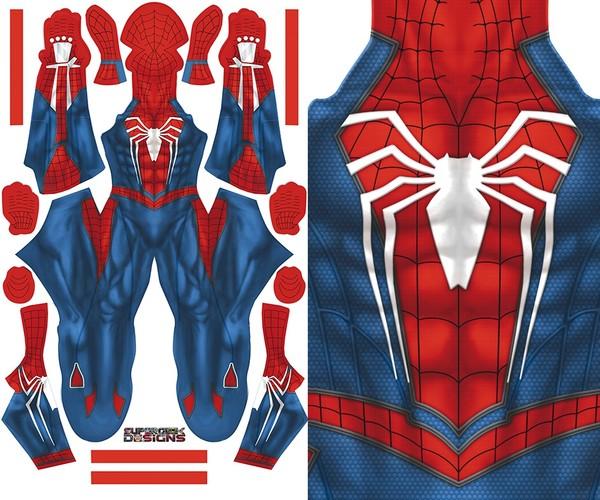 PS4 INSOMNIA SPIDER-MAN pattern file