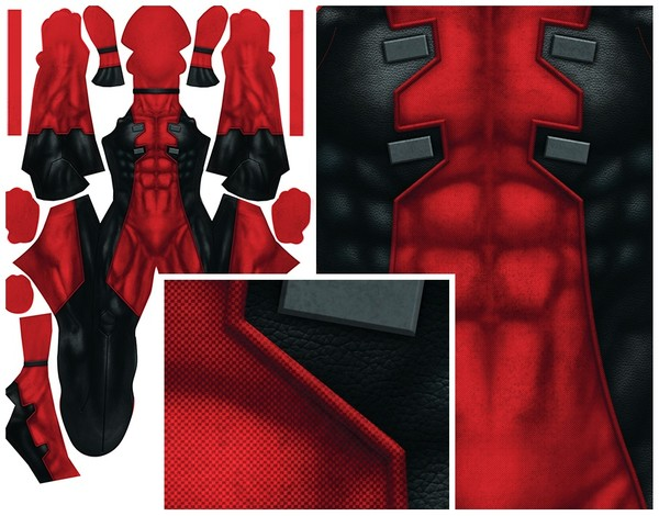 DEADPOOL COMIC (dirtied version) pattern file