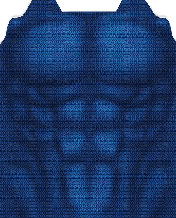 SUPERMAN TEXTURED UNDERSUIT pattern file