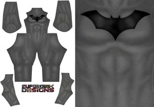 BATMAN COMIC STYLE pattern file