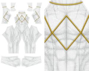 NEW  WHITE RANGER v1 pattern file