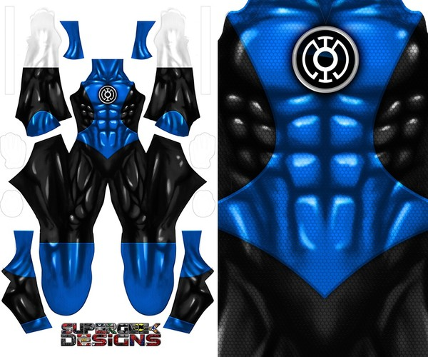 BLUE LANTERN pattern file