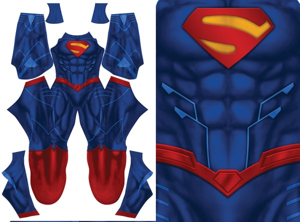SUPERMAN VARIANT  pattern file