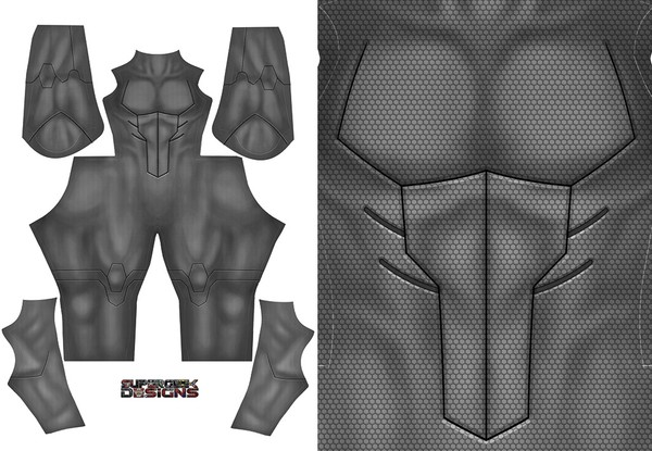 YOUNG JUSTICE BATMAN (no emblem) pattern file