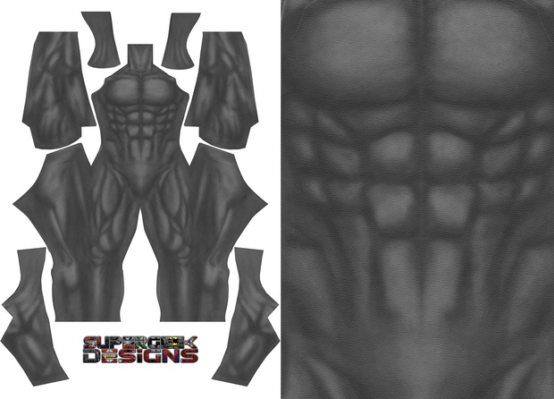 BATMAN DARK KNIGHT RETURNS (undersuit) pattern file