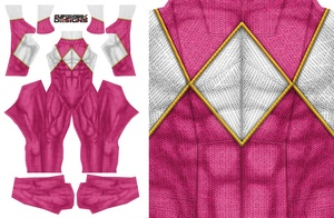 MALE PINK RANGER pattern file