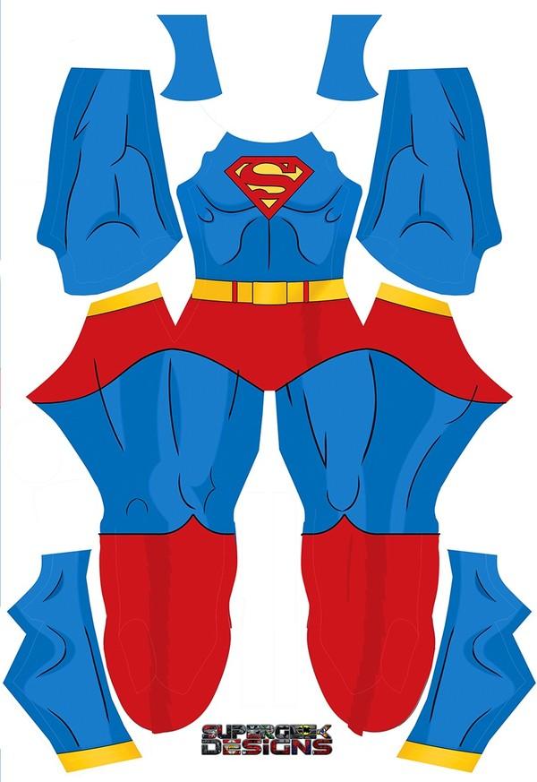 SUPERMAN OLD SCHOOL COMIC style pattern file
