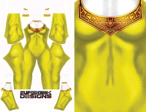 YELLOW ZEO RANGER pattern file