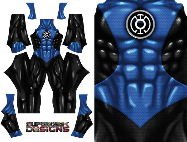 BLUE LANTERN pattern file (no boots/gloves) pattern file