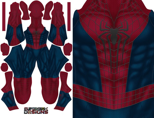 THE AMAZING SPIDERMAN 2 pattern file (updated muscle base)