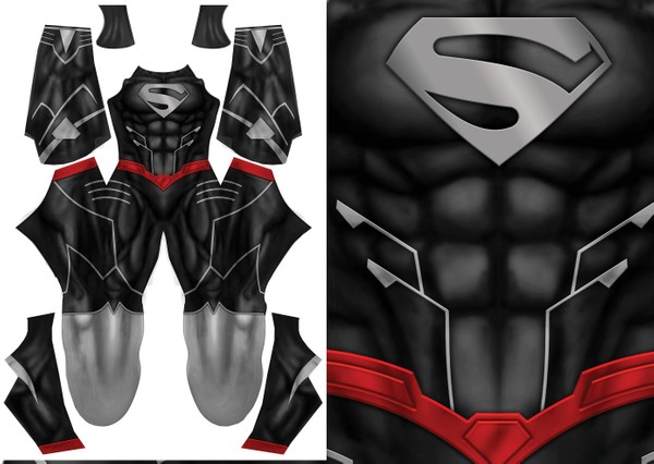 SUPERMAN BLACK VARIANT pattern file