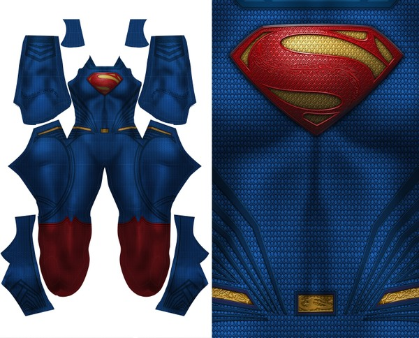 FEMALE SUPERMAN (DOJ) pattern file